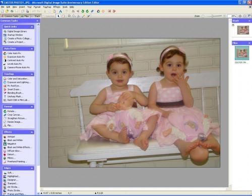 Comment faire pour modifier une photo couleur dans un Sépia photo à l'aide du logiciel Microsoft Digital Image