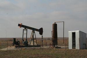 Quels types de produits sont fabriqués à partir d'un puits de pétrole?