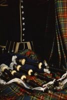 Robes de mariage écossais dans les années 1800