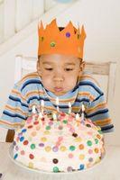 Idées de décoration simples pour les gâteaux d'anniversaire