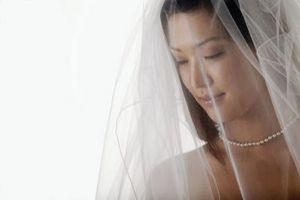 Comment faire un voile de mariage Goutte Cut