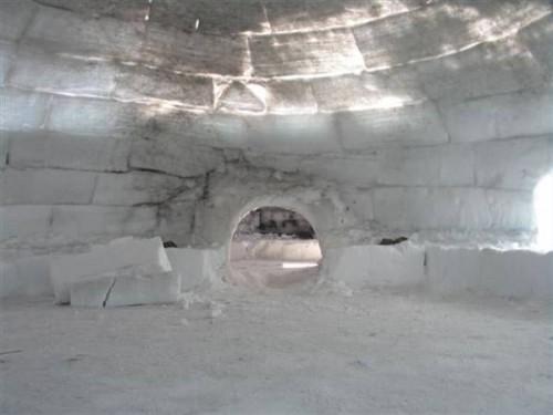 Comment construire un igloo simple
