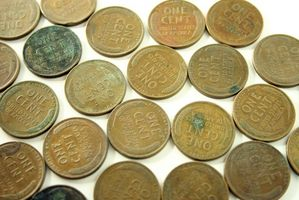 Erreurs sur blé Pennies From les années 1940