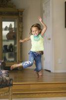 Comment enseigner les tout-petits pour sauter