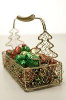 Comment faire des paniers cadeaux pour Noël Cadeaux