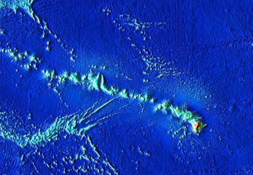 Comment Do Hotspots nous aider à déterminer l'âge relatif des îles hawaïennes?