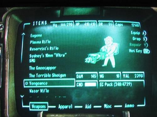 Comment trouver Vengeance dans Fallout 3