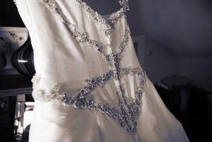 Comment Bleach une robe de mariée Vintage