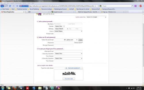 Étapes pour créer un e-mail ID
