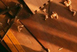 Que dois-je utiliser Bit Quand je fais une queue de colombe en bois de travail?