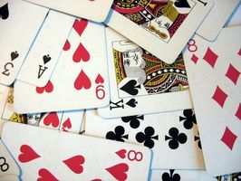 Comment jouer Two Handed Solitaire avec des cartes