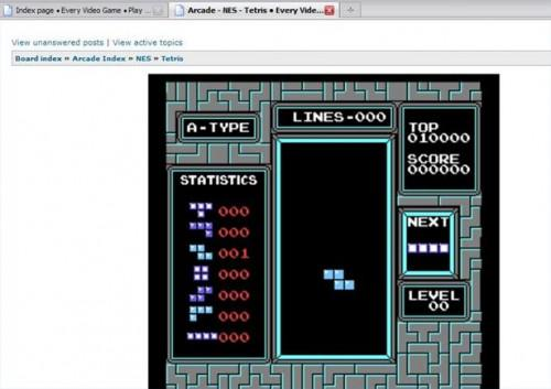 Comment jouer Nintendo Tetris Online