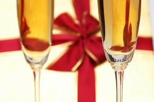 Cadeaux de vin de bricolage pour la mariée