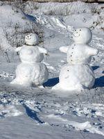 Snowman Building Jeux
