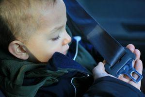 Règlement de sécurité d'auto pour bébé