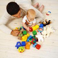 Comment stimuler le développement physique d'un 5-month-old