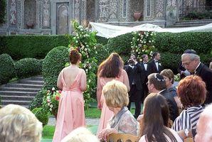 Etiquette de la procession de mariage