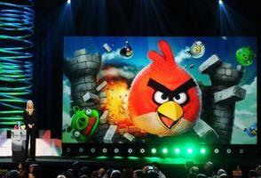 """Comment détruire les oeufs sur Level 21 """"Angry Birds"""""""