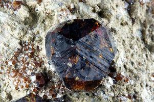 Comment la mine Garnet Gemstones
