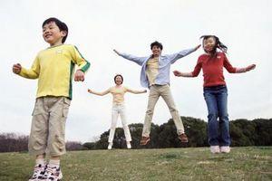 Dépenses Caloric Au cours Activités pour les enfants