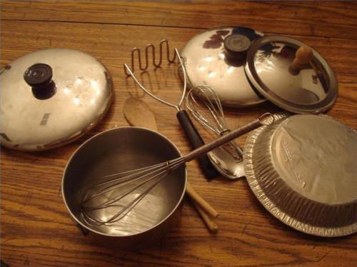 Comment faire pour créer Instruments de musique de jeu pour les enfants à partir des éléments dans votre cuisine