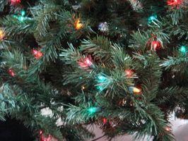 Comment faire arbre de Noël Lumières Blink