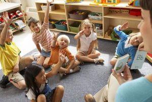 Quelles sont des activités amusantes et structurés de pré-maternelle à la 6e année de la jeunesse?