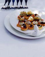 Réception de mariage Finger Liste des aliments