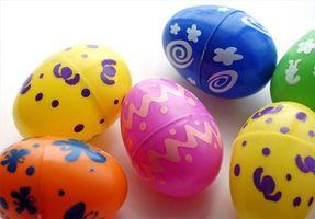 Bricolages de Pâques pour les enfants de l'école