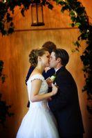 Backdrops de mariage faits maison