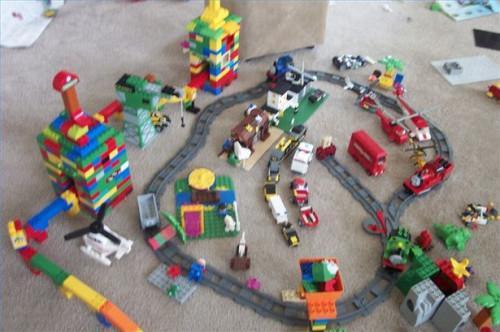 Comment construire une ville Lego