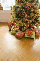 Sacs cadeaux de Noël à faire