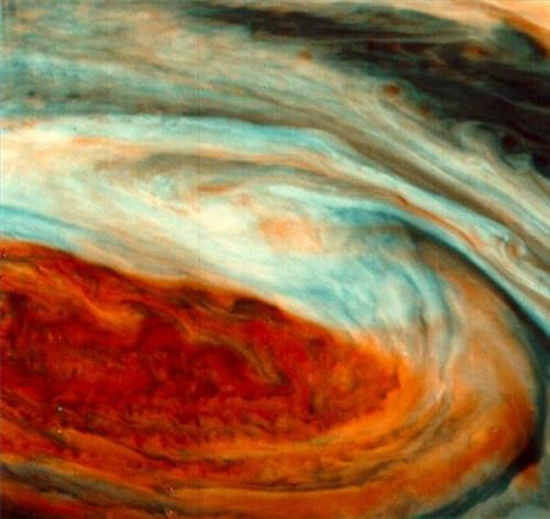 Ce qui constitue la surface de Jupiter?