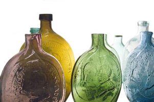 A propos de bouteilles anciennes