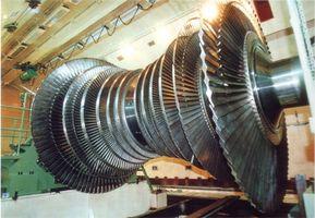 Comment fonctionne une turbine à vapeur