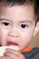 Liste des aliments de doigts pour les tout-petits