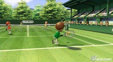 Comment mettre Servir dans Wii Sports Tennis