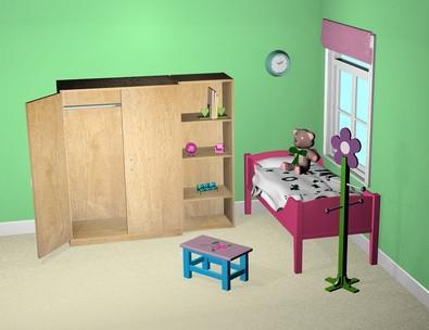 Comment concevoir une chambre en ligne pour les enfants