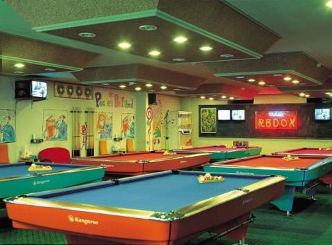 Utilise un jeu Snooker
