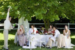 Tableau de mariage Décorations & Fleurs