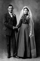 Robes de mariée 1800-style