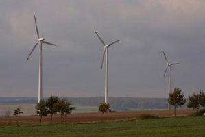 Éolienne Facteurs de capacité