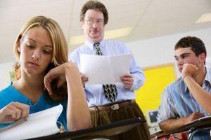 Comment aider un adolescent Handle un enseignant Difficile