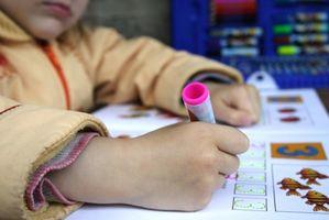 Avantages pour les enfants avec des troubles d'apprentissage
