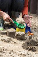 Comment construire un bac à sable bon marché avec un pneu de camion pour les enfants à utiliser