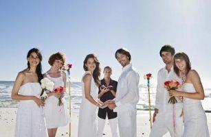 Quelles personnes sont nécessaires dans une fête de mariage?