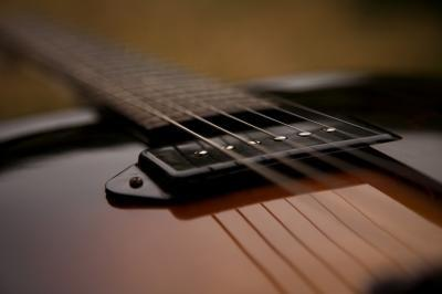 Description des pièces de guitare