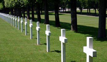Avantages d'inhumation pour les conjoints des anciens combattants