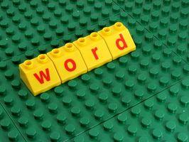 Comment créer votre propre Parole Scramble Avec plusieurs mots