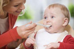 Les aliments à faible acidité pour tout-petits